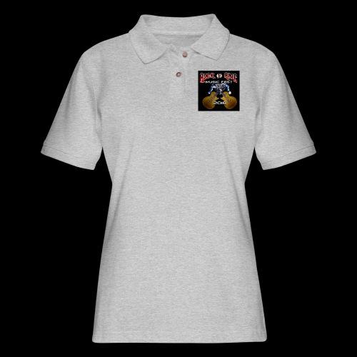 RocknRide Design - Women's Pique Polo Shirt