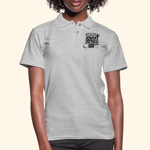 BANJO_RABAB - Women's Pique Polo Shirt