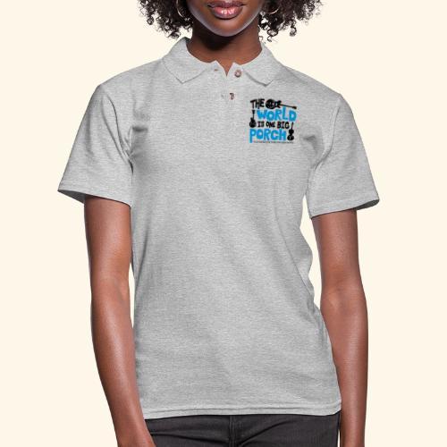 BIG_PORCH - Women's Pique Polo Shirt