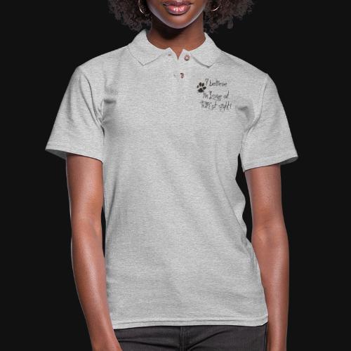 Love at Furst - Women's Pique Polo Shirt
