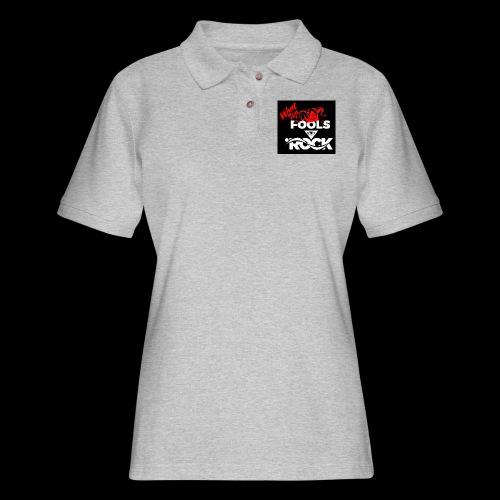 Fool design - Women's Pique Polo Shirt