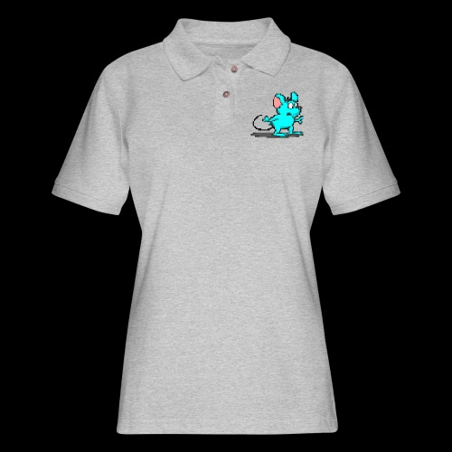 mymice transparent - Women's Pique Polo Shirt