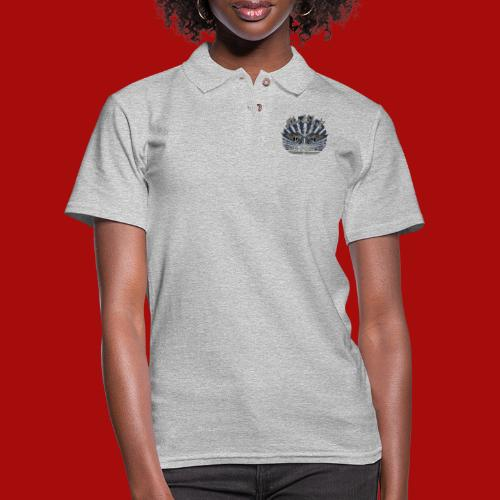 BloodShot Air Force with black - Women's Pique Polo Shirt