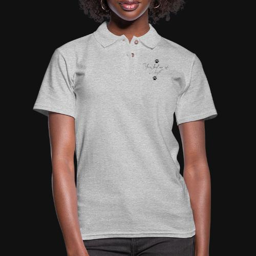 You Had Me At Woof - Women's Pique Polo Shirt