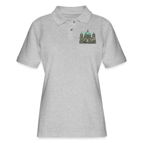 Berlin Cathedral - Women's Pique Polo Shirt