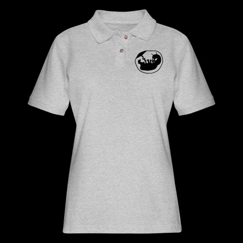 Alien Fetus by bmx3r - Women's Pique Polo Shirt