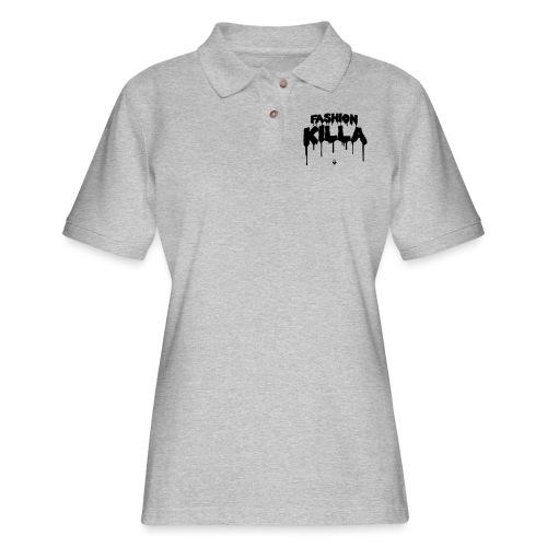 FASHION KILLA - A$AP ROCKY - Women's Pique Polo Shirt