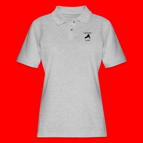 OxyGang: Confident Killer Products - Women's Pique Polo Shirt