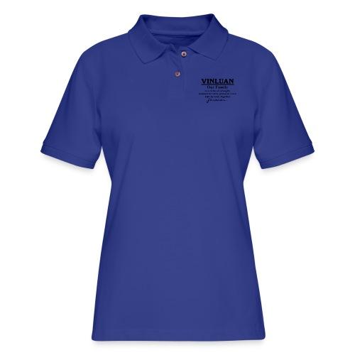 Vinluan Family 01 - Women's Pique Polo Shirt