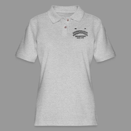 Talking Board - Women's Pique Polo Shirt