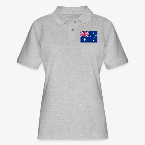Bradys Auzzie prints - Women's Pique Polo Shirt