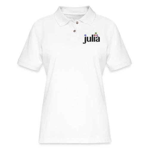 Official Julia Logo - Women's Pique Polo Shirt