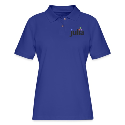 Official Julia Logo - Women's Pique Polo Shirt