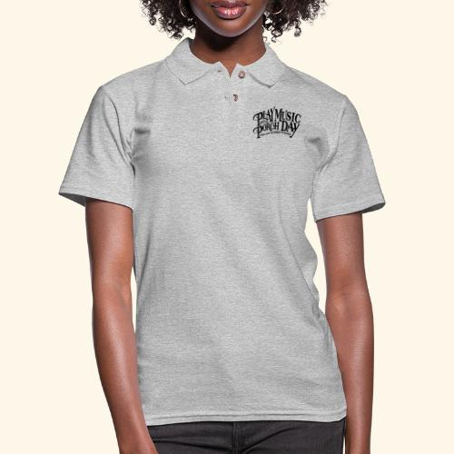 shirt4 FINAL - Women's Pique Polo Shirt