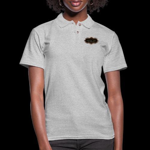 teamTSC badge03 Bar - Women's Pique Polo Shirt