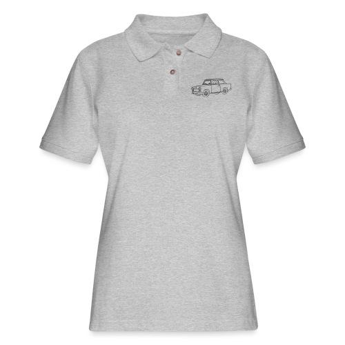 Car Trabant - Women's Pique Polo Shirt