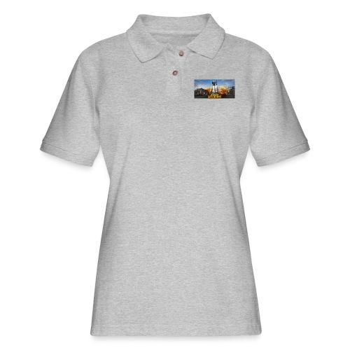 pubg 1 - Women's Pique Polo Shirt