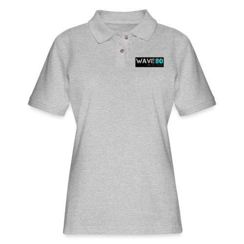 Main Logo - Women's Pique Polo Shirt