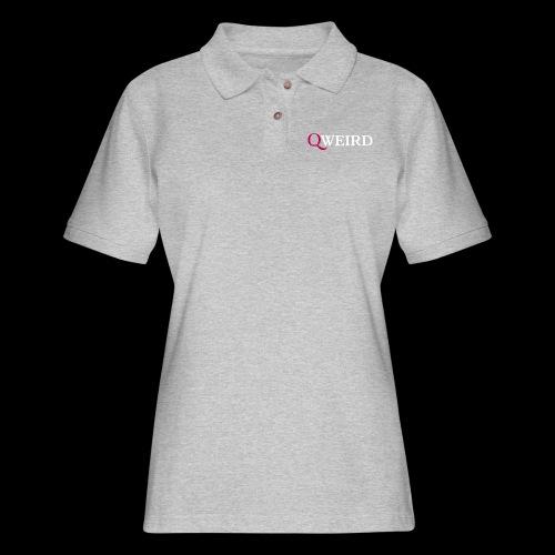 (Q)weird - Women's Pique Polo Shirt