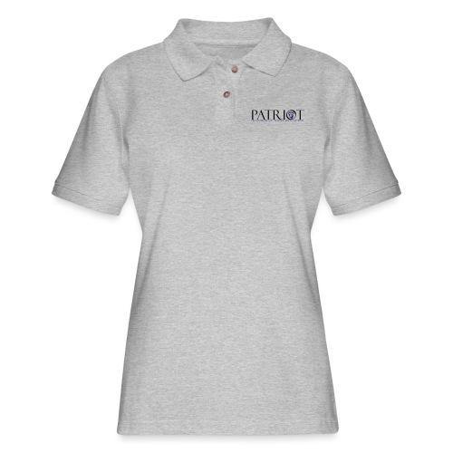 PATRIOT_USA_LOGO_2 - Women's Pique Polo Shirt