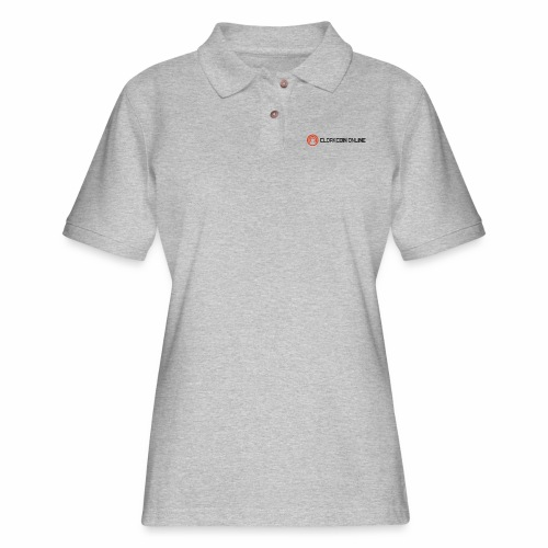 Cloakcoin online dark - Women's Pique Polo Shirt