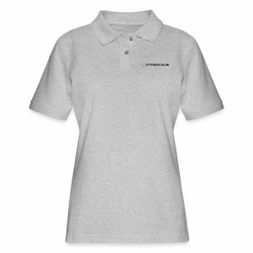 stratiscoin online dark - Women's Pique Polo Shirt