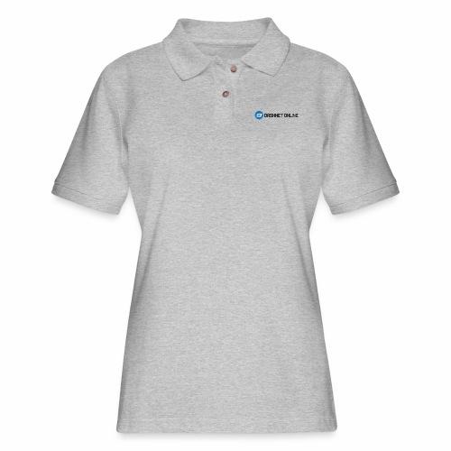 dashnet online dark - Women's Pique Polo Shirt