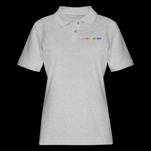 homospectral - Women's Pique Polo Shirt