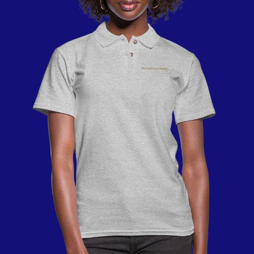 the magic is in the words - Women's Pique Polo Shirt