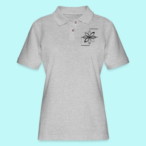 Colour Me DAIZEY Magenta - Women's Pique Polo Shirt
