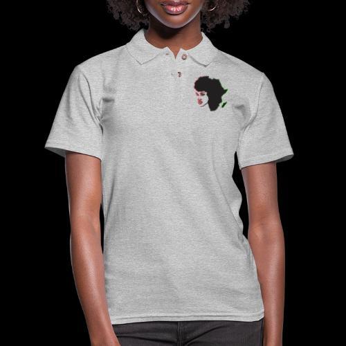 Afrika is Woman - Women's Pique Polo Shirt