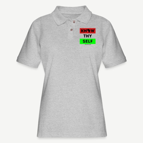 Know Thy Self - Women's Pique Polo Shirt