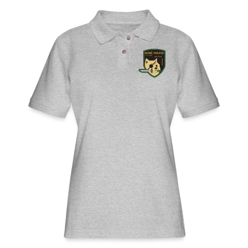 Doge Hound Metal Gear Solid - Women's Pique Polo Shirt