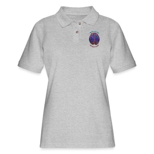 IntellTuss Shirt (pocket design) - Women's Pique Polo Shirt