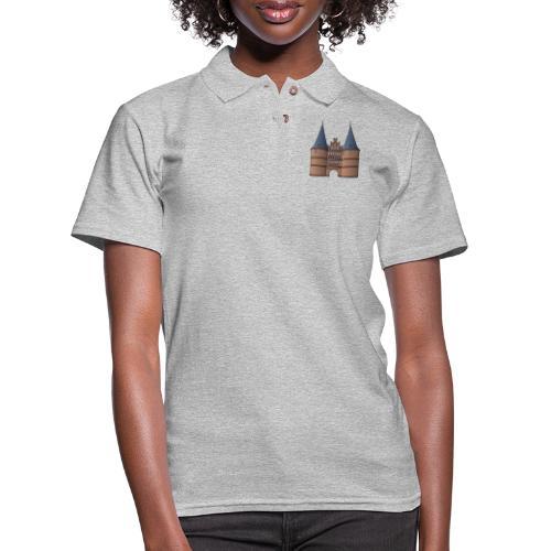 Citygate, Holstentor Lübeck - Women's Pique Polo Shirt