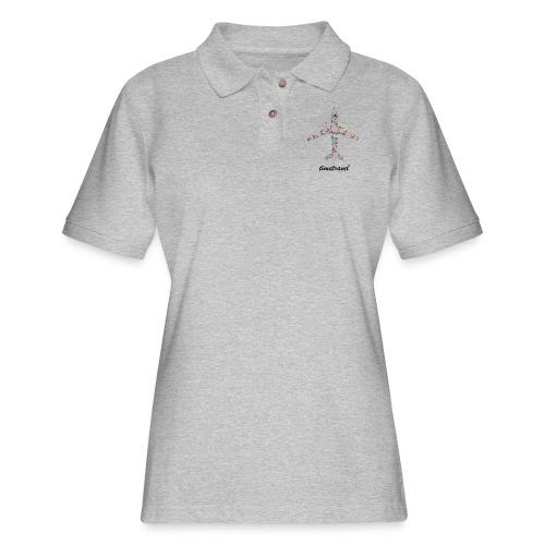 Time To Travel - Women's Pique Polo Shirt