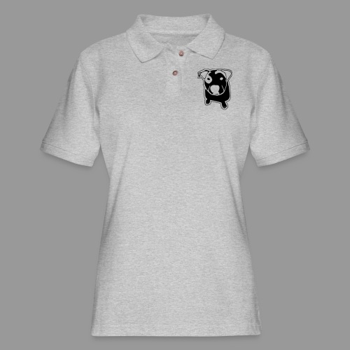 Pit Bull T-Bone - Women's Pique Polo Shirt