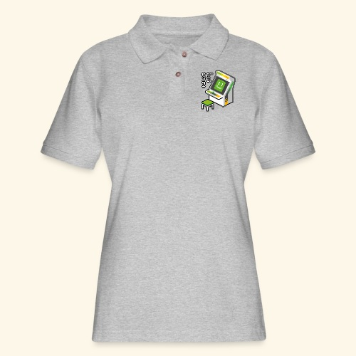 Pixelcandy_AW - Women's Pique Polo Shirt