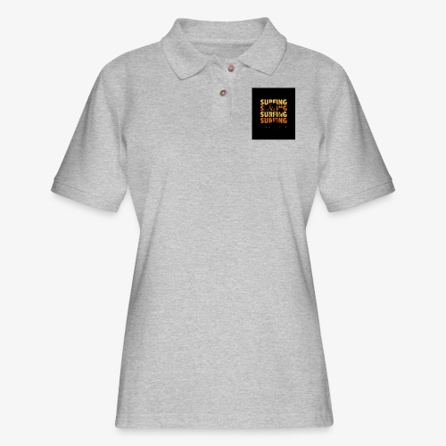 Surfing Life Style - Women's Pique Polo Shirt