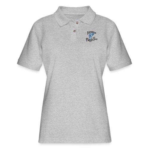 Keep our sea plastic free - Women's Pique Polo Shirt