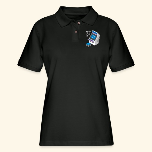 Pixelcandy_BC - Women's Pique Polo Shirt
