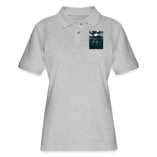 Lost Sea - Women's Pique Polo Shirt