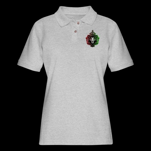 RBG Lion - Women's Pique Polo Shirt