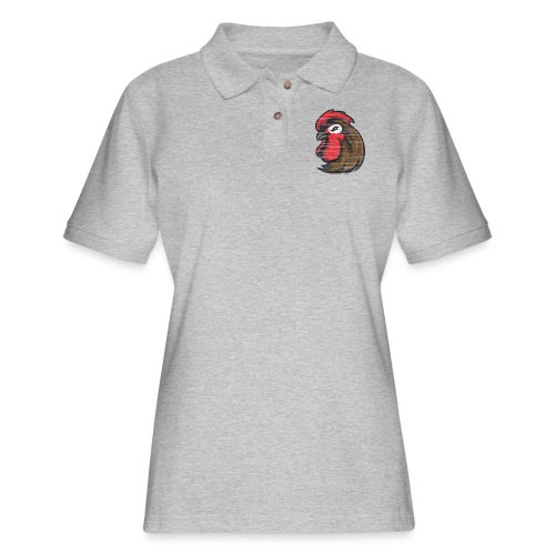 Pecker colour hoodie - Women's Pique Polo Shirt