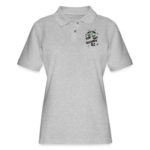 A170455+East+Coast_rev+3+ - Women's Pique Polo Shirt