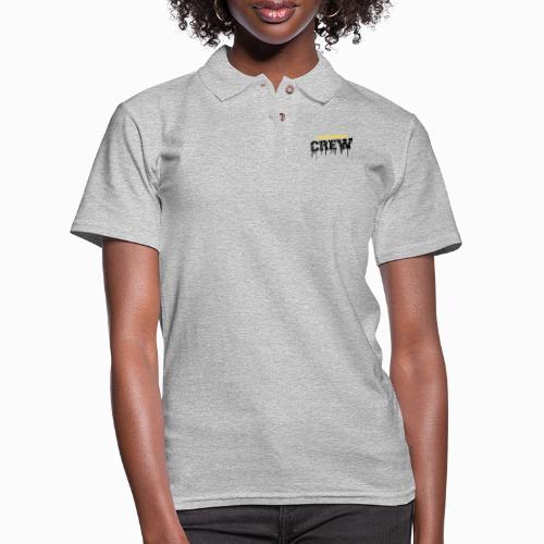 saskhoodz crew - Women's Pique Polo Shirt