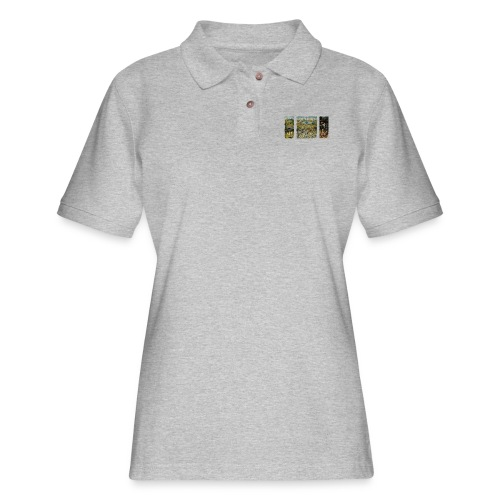Garden Of Earthly Delights - Women's Pique Polo Shirt