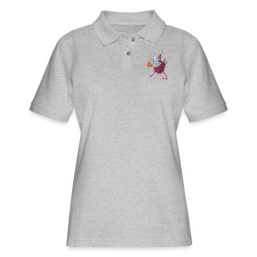 MR. PUFFIN - Women's Pique Polo Shirt