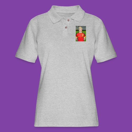 738e0d3ff1cb7c52dd7ce39d8d1b8d72_without_ozil - Women's Pique Polo Shirt