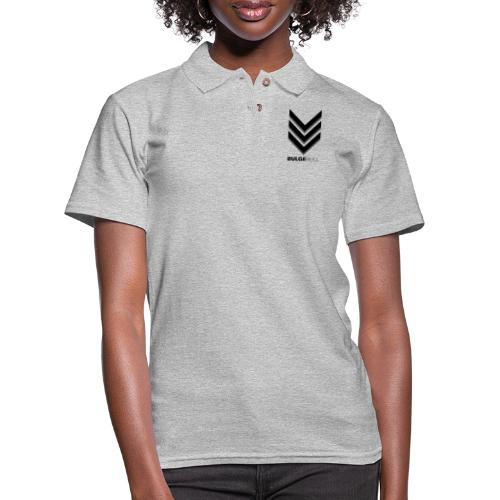 bulgebull_badge - Women's Pique Polo Shirt